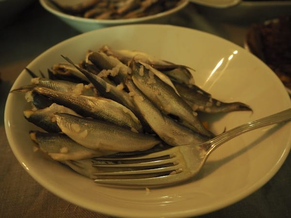 … including pickled herrings …