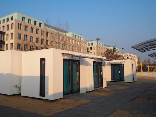 Von den Cube Lodges Berlin Mitte ...
