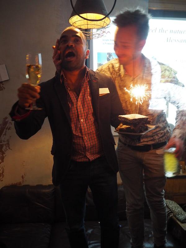 Happy Birthday, Kash! Noch jemand, der international stets Beachtung und Anerkennung findet: Kashyap Bhattacharya von BudgetTraveller.com