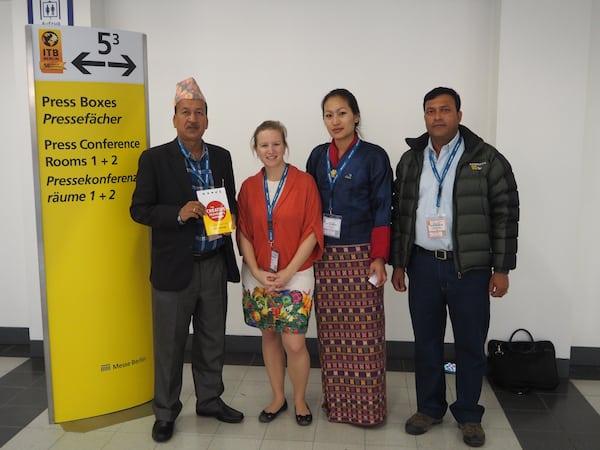 … bis zur Delegation aus Nepal & Bhutan ...