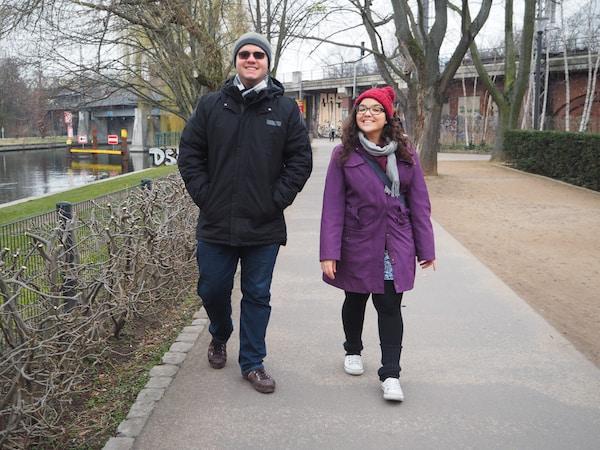 … über den genüsslichen Stadtspaziergang Berlin Moabit mit Nicole & Pacelli, den beiden Expats aus Brasilien ...