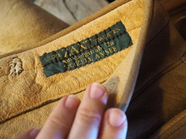 In der Lederhosen-Manufaktur von Tobias Zant ...