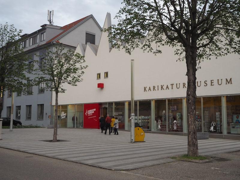 Karikaturmuseum Krems: Heimat skurrilster Kunstwerke und ein idealer Raum ...