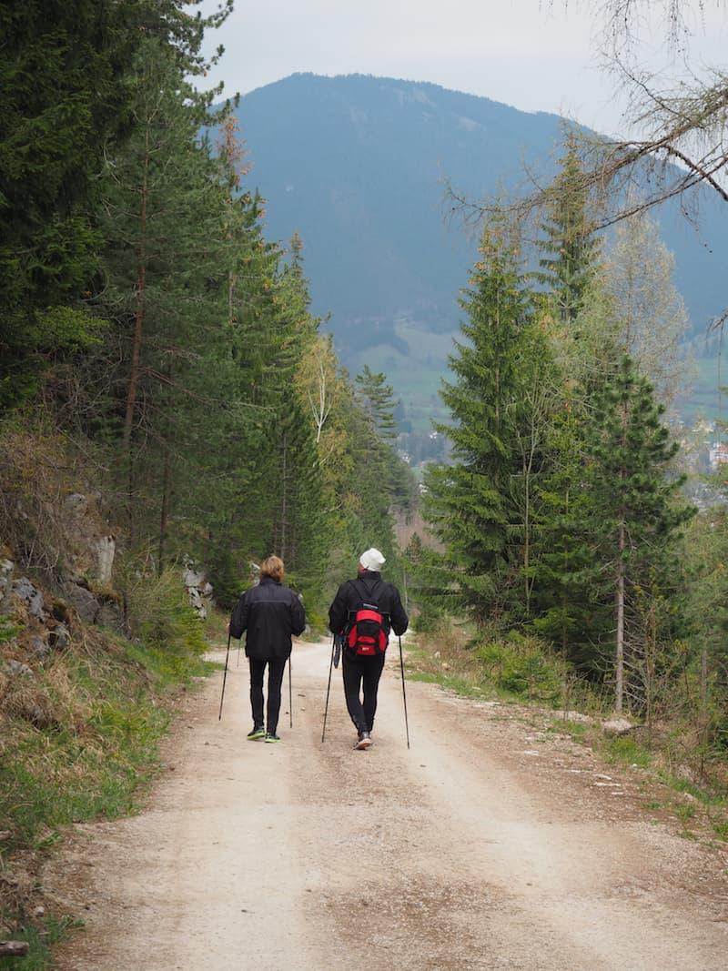 … a mere, easy hiking trail away ...