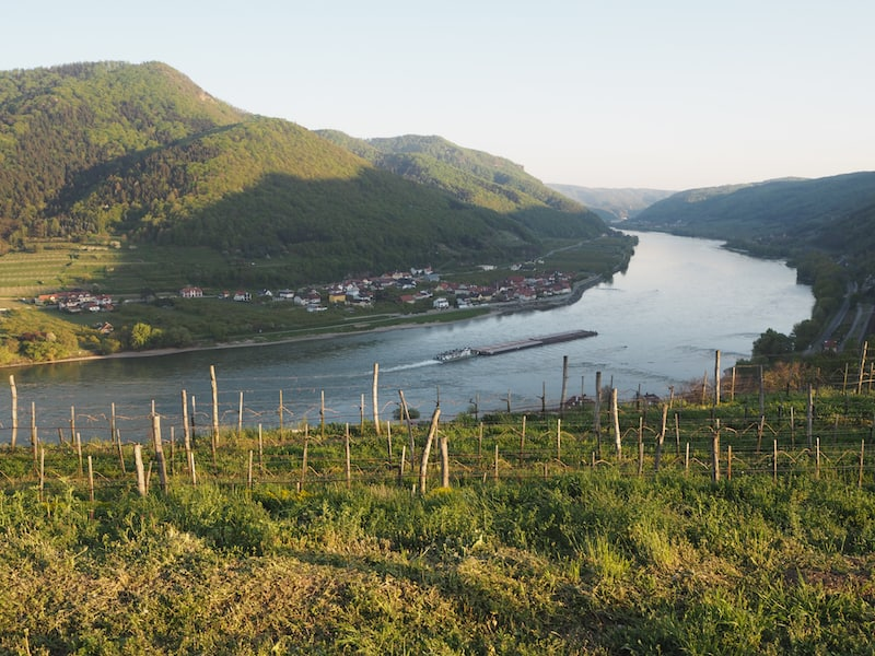 ... as well as the Wachau World Heritage Landscape: We will be back here, for sure !!