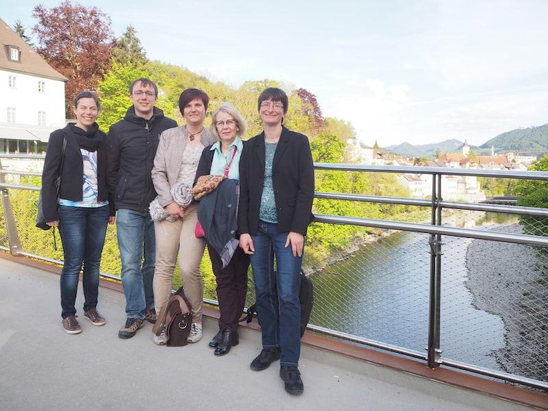 Meine lieben Seminar-TeilnehmerInnen: Von links nach rechts, Sandra Holte, Jens Schmuckal, Tanja Seegelke, Karin Drda-Kühn sowie Ruth Jung.