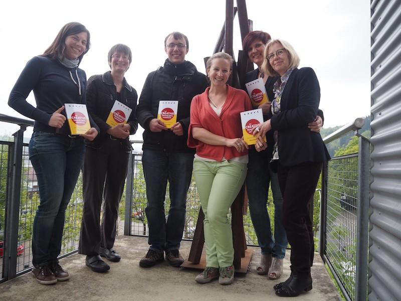 """Schön, mein Buch """"The Creative Traveler's Handbook"""" nun in den Händen weiterer Kulturtourismus-Experten aus Süddeutschland zu wissen !!"""