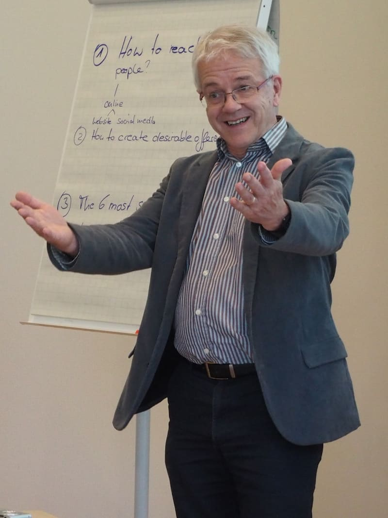 ... thank you, Wolfgang Eisenreich, for your active engagement in leading the training module session !! ...