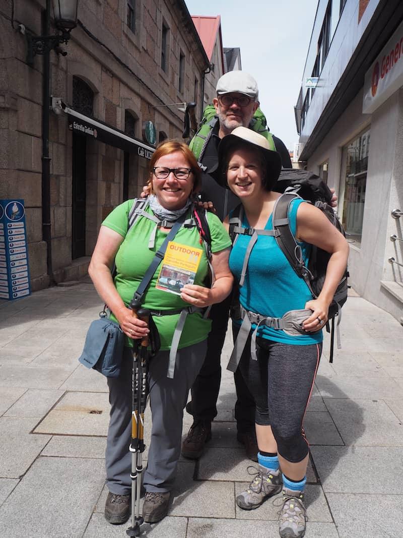 ... der Reiseführer meiner deutschen Camino-Freunde Inge & Dietmar.