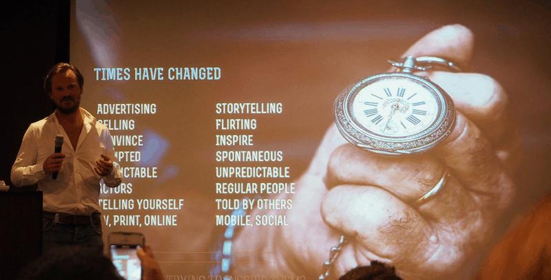 Hierzu auch gleich mal das Beispiel von Caspar Diderik aka StoryTravelers, der während des Social Travel Summit in Hamburg folgende nachweislich wahre Weisheiten festhielt.