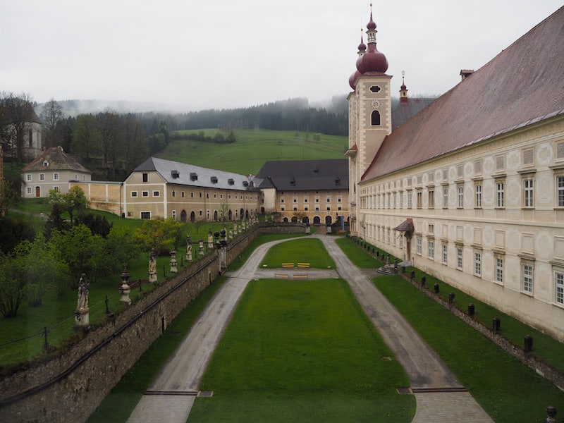Willkommen im Stift St. Lambrecht ...