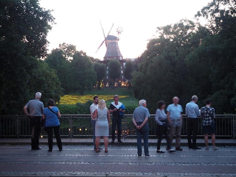 Bremen verfügt übrigens auch über einen Windrad ...