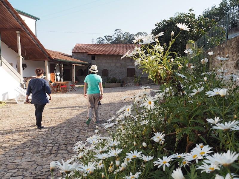 Ankommen in der Casa Mindela, dessen Errichtung auf das Jahr 1864 zurückgeht ...