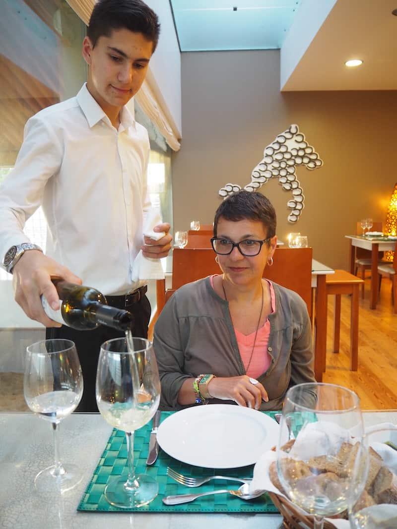 """Rita hat uns zudem ein köstliches """"Rendezvous"""" im Restaurant ihres Vertrauens, dem ... beschert ..."""