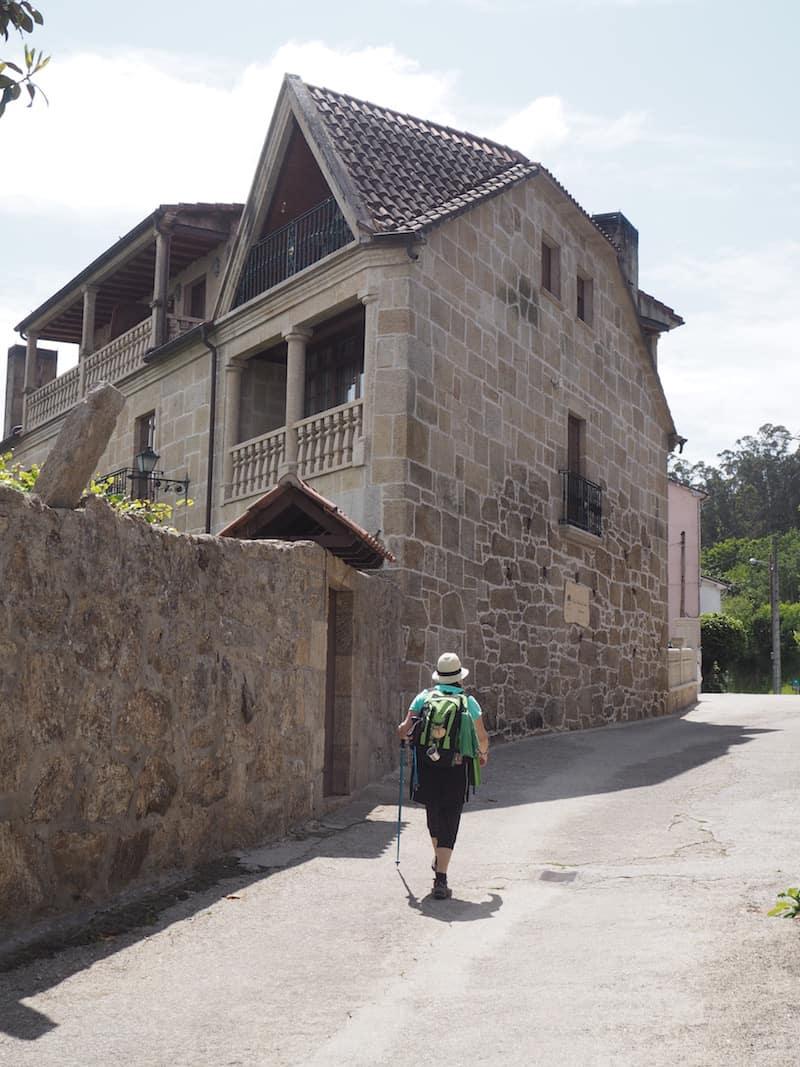 "... verdiente Ankunft in der ""Casa Antiga do Monte"" ..."