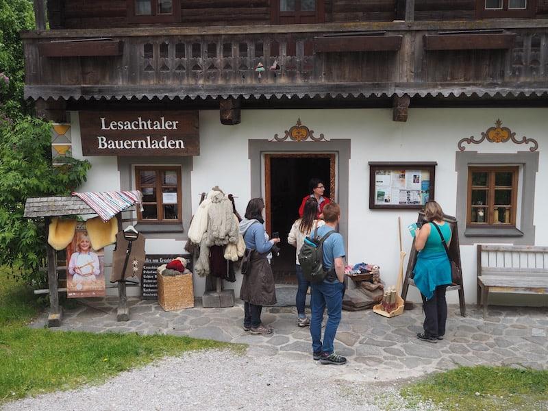 Der Anfang aller kulinarischen Genüsse im Lesachtal: Der Bauernladen mit dem gleichen Namen.