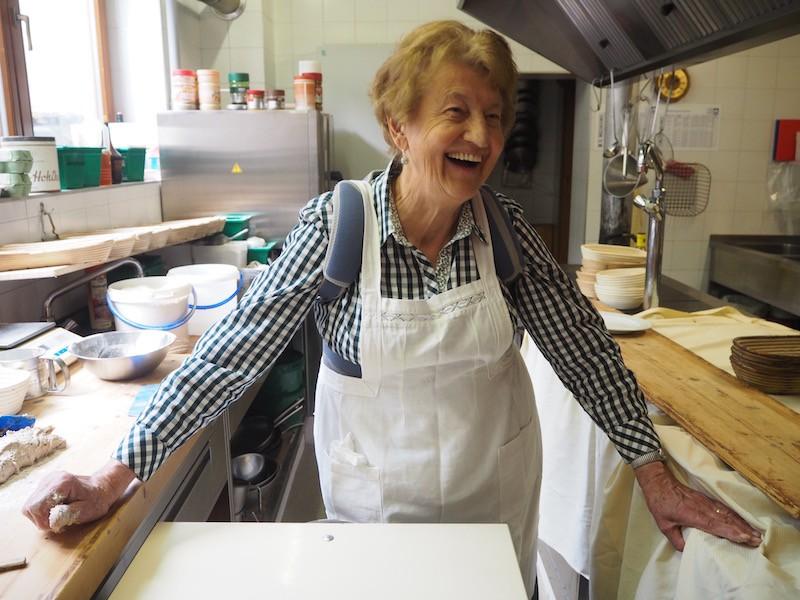 Allerherzlichste Begrüßung in der Küche des Alpenhotel Wanderniki ...