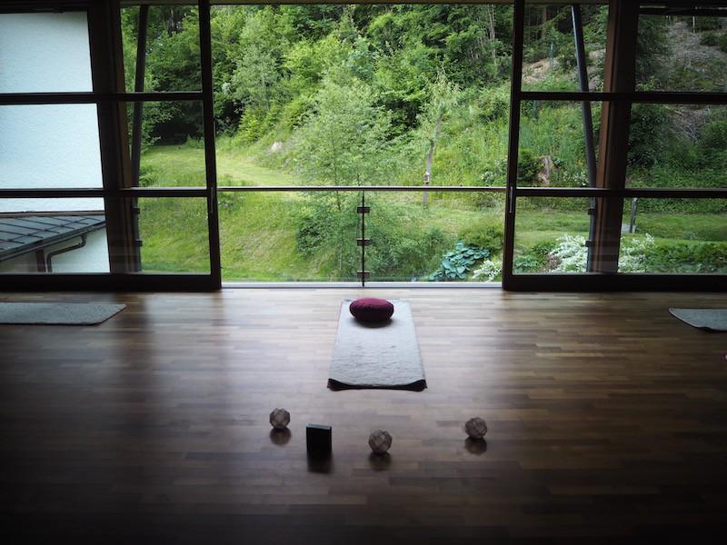 Ganz zu schweigen vom Yoga-Raum ...