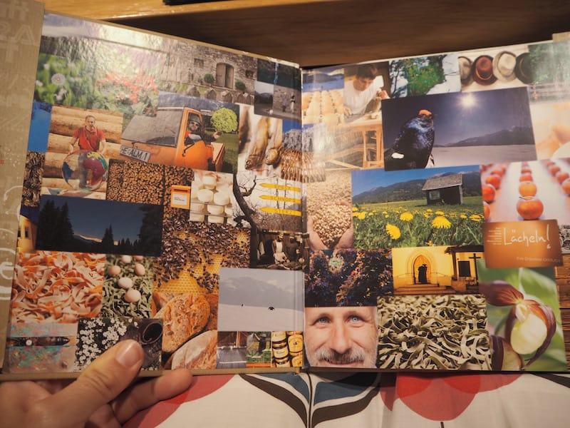 """Der """"Slow Food Travel""""-Geschichtenreichtum steckt auch in Herwig Ertl's Buch, von dem ich nun eine signierte Ausgabe mein eigen nennen darf."""
