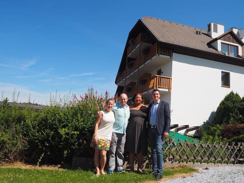 ... wir sagen Danke für einen wahrlich schönen Besuch bei Euch, lieber David Binder & Hotel-Team der Schwarzalm!