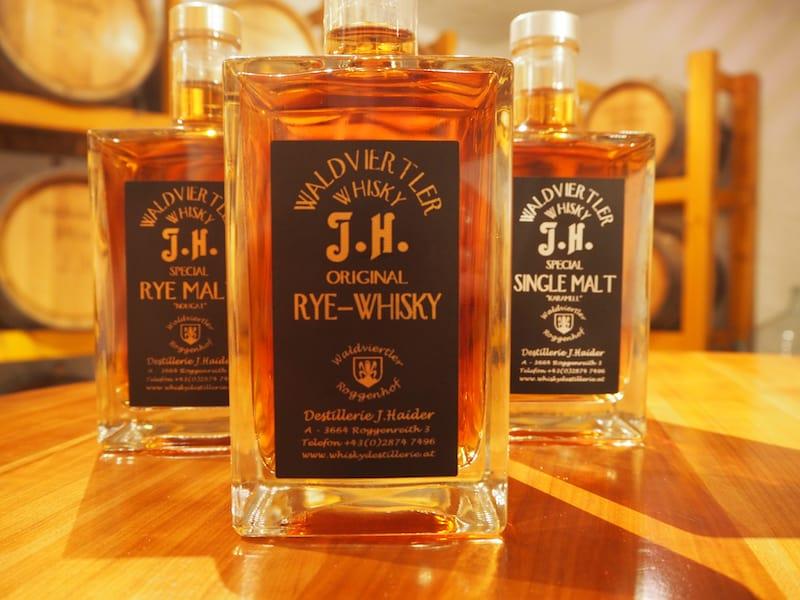 Guter Waldviertler Whisky ...