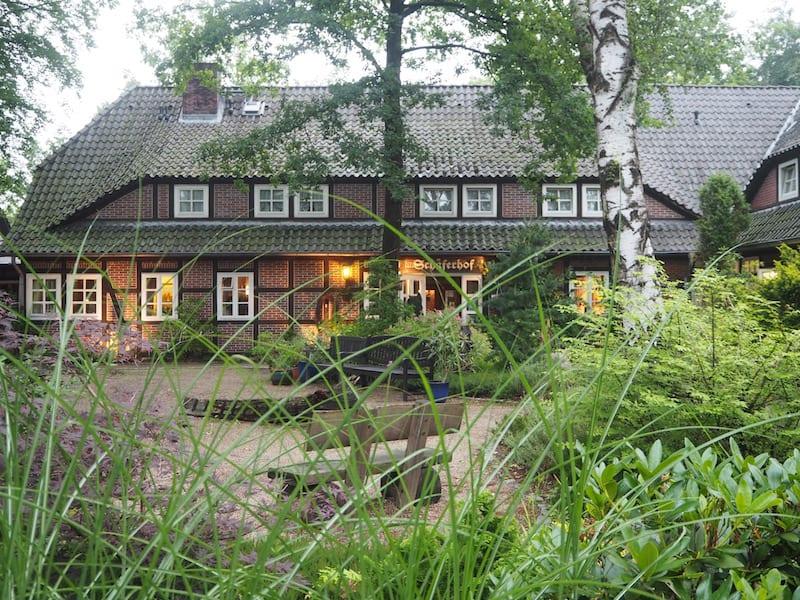 """Meine Ankunft im wahrlich naturbelassenen """"Schäferhof"""" (Nomen est Omen) ..."""