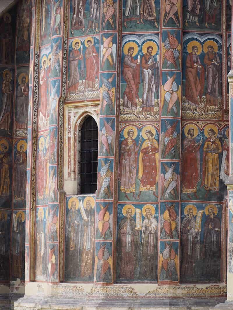 Und seht sie Euch an, diese Fresken: Sind sie nicht wirklich einfach einzigartig?