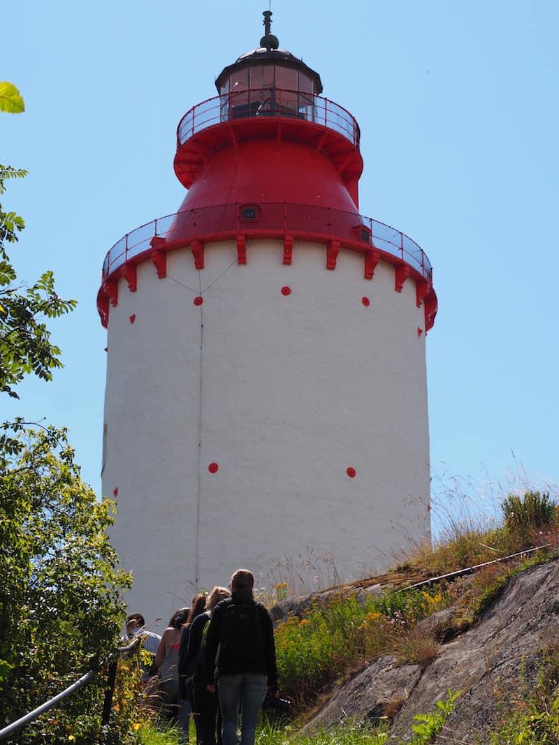 ... vom historischen Leuchtturm ...