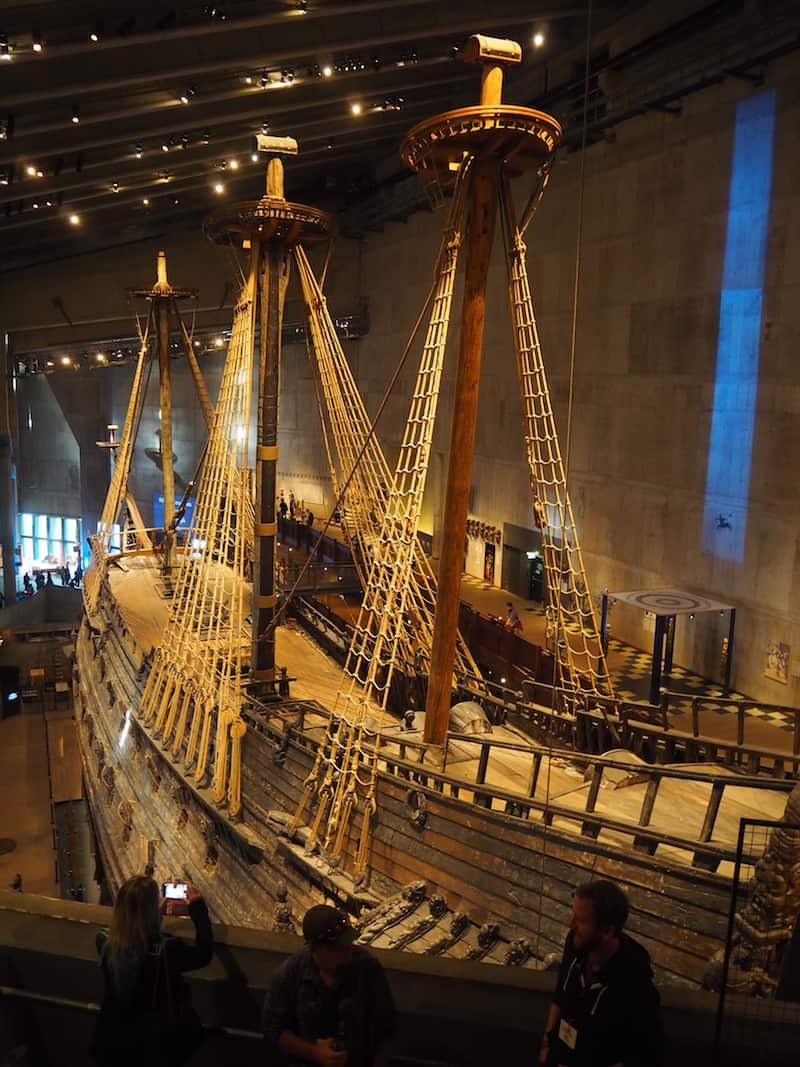 Zwischenzeitlich lockt das sich gleich nebenan befindlichen Vasa-Museum mit seinem jedes Mal aufs Neue erstaunlichen, original erhaltenen Segelschiff.