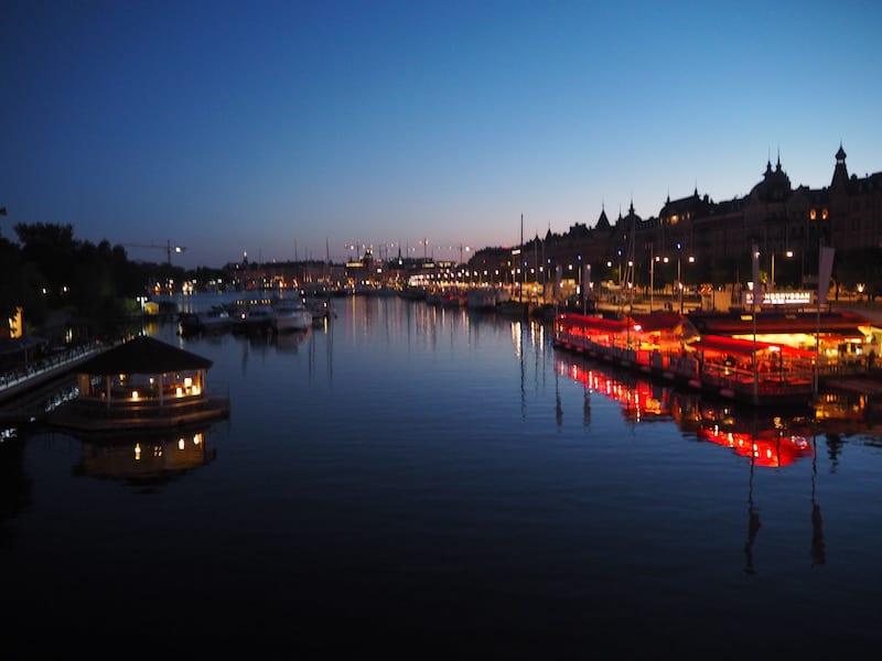 Romantik pur: Der Abendspaziergang durch Stockholm ...