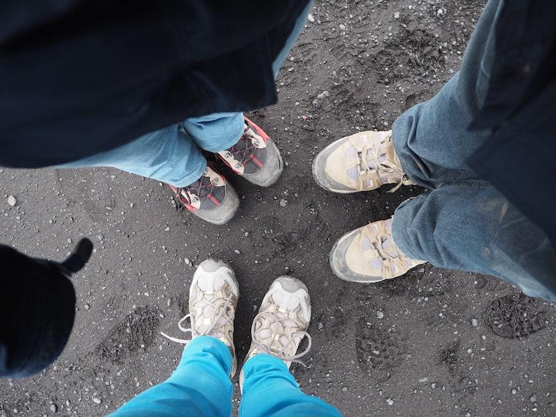Gutes Schuhwerk ist auf Island zu jeder Tages- und Nachtzeit ein absolutes MUSS!