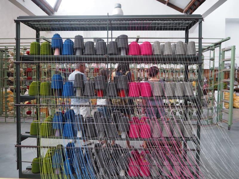 """""""Kreative Spinnereien"""" hat sich auch die Wollfabrik """"Burel Factory"""" ausgedacht ..."""