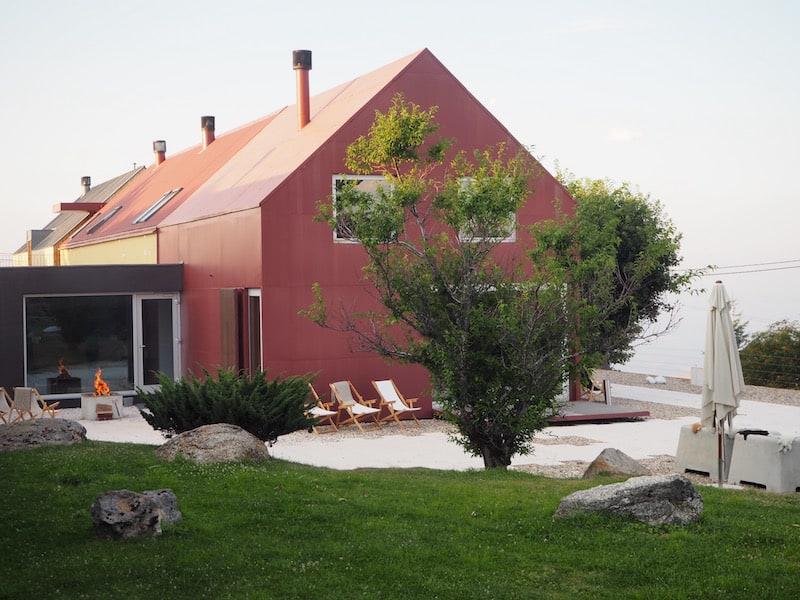 ... für so viel Gastfreundschaft in der Casa das Penhas Douradas ...
