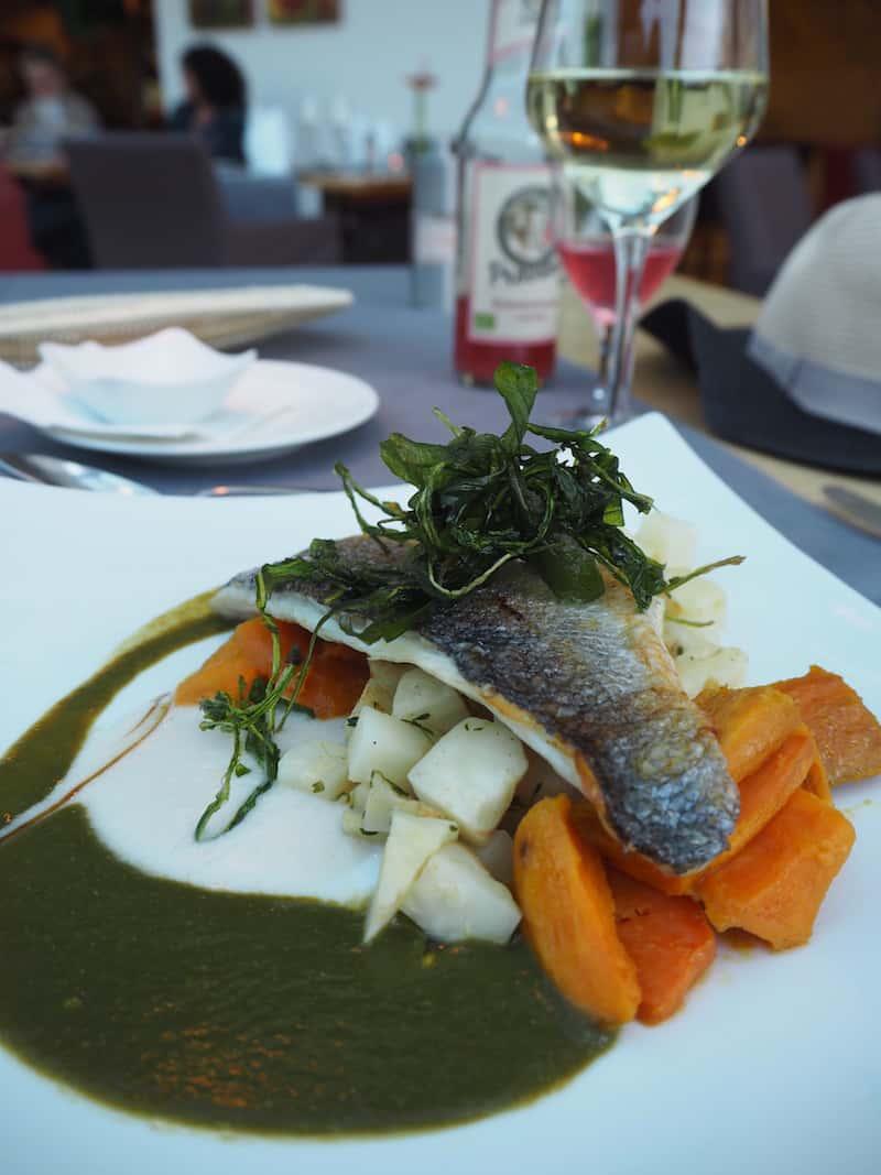 ... ist das Bio-Restaurant meerSalz mit seiner feinen Fisch-Küche im Ostseebad Binz.