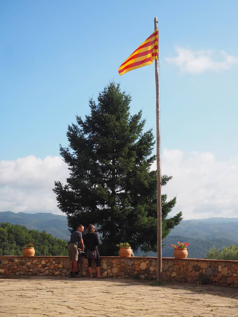 Here, at yet another emblem of proud Catalan regional identity ...