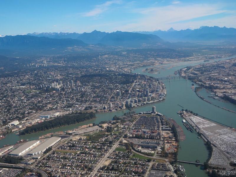 ... ist die Reise einfach wert: Vancouver, wir kommen bzw. landen!
