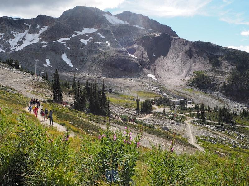 Keine Stunde weiter lockt der Wintersportort Whistler, Austragungsort der Olympischen Winterspiele 2010 ...