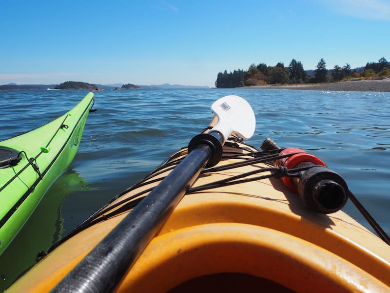 Go kayaking: The perfect opportunity for being on the water in a natural place such as Salt Spring Island ...