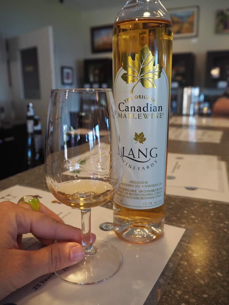 Surprise, surprise: Tasting Canadian Maple Wine for the very first time …