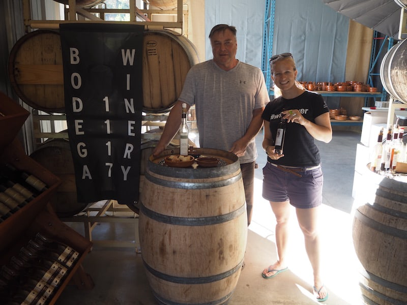 … where local Alois, a German sausage maker by trade, has landed himself in a position to claim the title for the best vinegar in the valley ! Cheers to that, dear Alois!