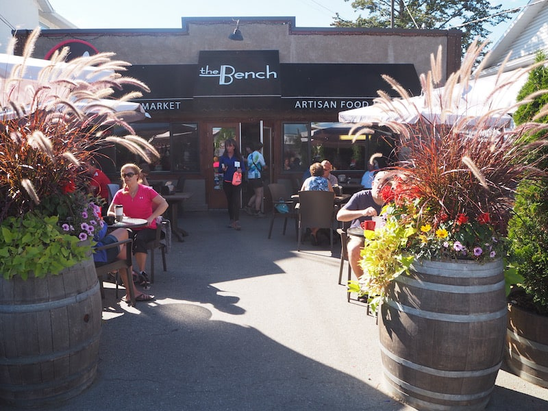 "Hungry? Head out to ""The Bench Market"" in Penticton for either breakfast or dinner after all these lovely wine tastings in the area."