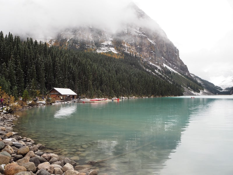 Lake Louise itself is a fascinating beauty, and offers many a popular hiking trail.