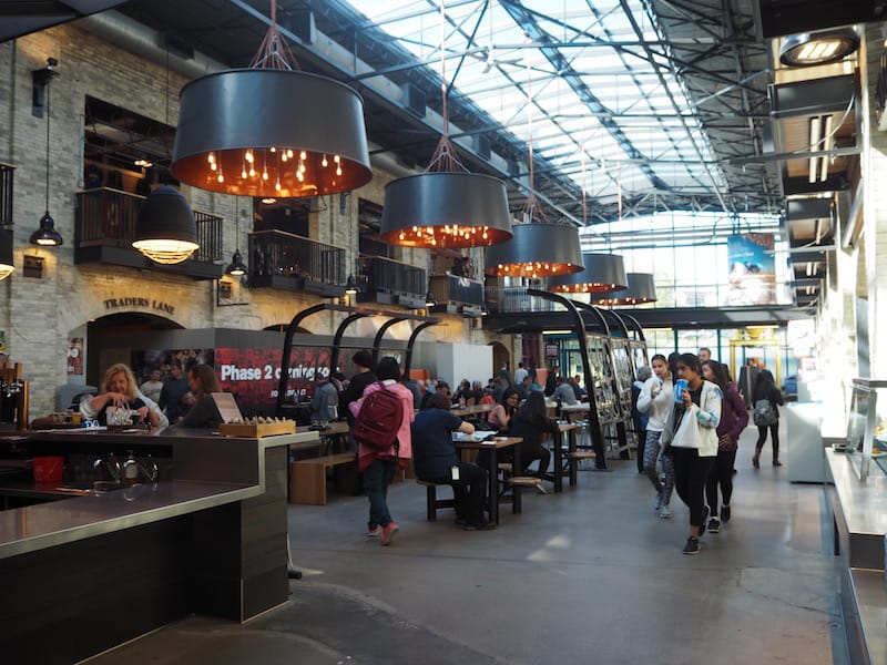 ... and has added a lively Food Market hall to one of its central attractions. Great place for a little lunch there, too!