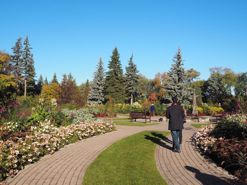 as well as the English Gardens of Winnipeg ...