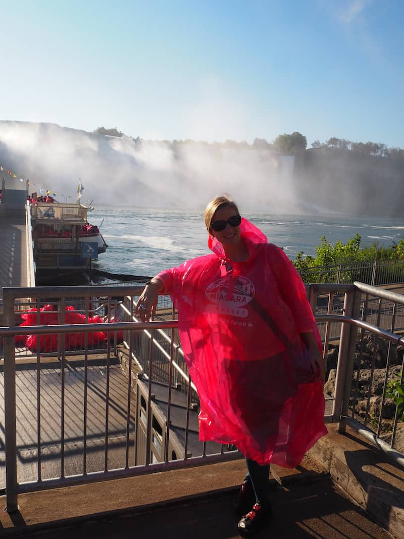 "... a Niagara Falls cruise ship company that dresses you ""in style"" for the adventure that lies waiting ..."