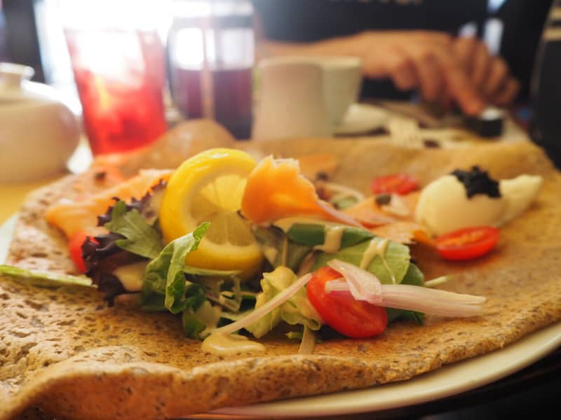 "... but so is Little Paris Café right inside downtown Niagara Falls, offering tasty ""galettes"" (savoury Crêpes) in an original, French style with a local twist."