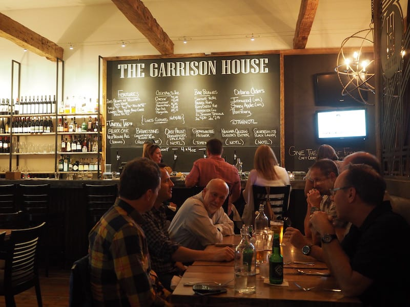 "... and last but not least, we recommend you to head to ""The Garrison House"", an absolute local, favourite tip in Niagara-on-the-Lake that satisfied our taste buds to the fullest!"