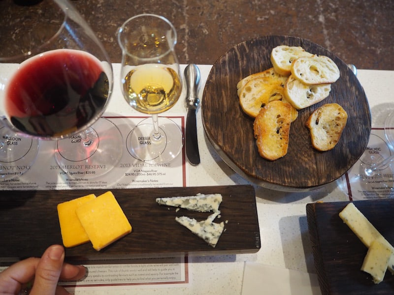 "Still hungry? If you are headed for some of Niagara Falls' better known wineries on your visit, check out Reif Estate Winery which offers a delicious ""wine & cheese"" pairing tasting ..."
