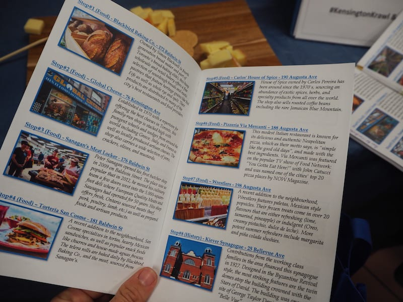 Browsing through the overview of our Food Tour with Savour Toronto, I am amazed at the manifold food, drinks & storytelling stops across Kensington ...