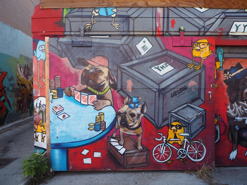 ... a look around the town's famous Street Art Graffiti ...